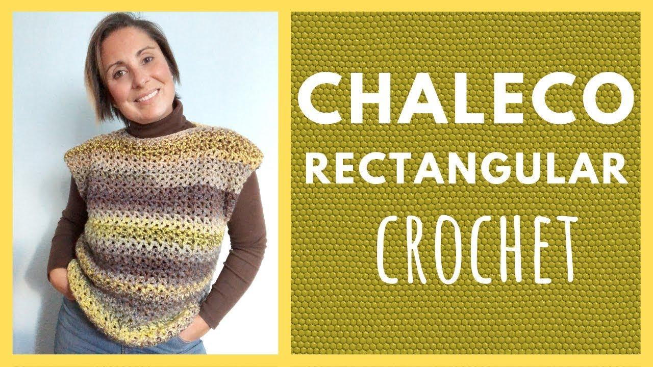 CÓMO HACER UN CHALECO FÁCIL DE CROCHET