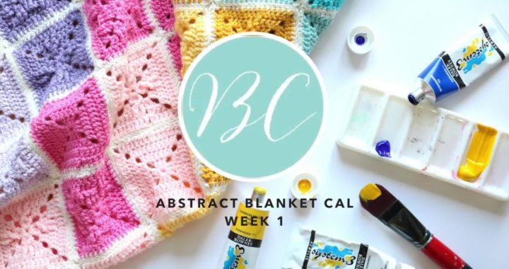 CROCHET ALONG: Abstract Blanket Week 1 | Bella Coco