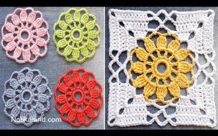CROCHET EASY Crochet Granny Square Motif #2