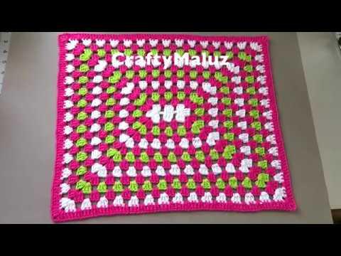 CROCHET TUTORIAL ♥ Haz un lindo tapete a crochet fácil y rápido | TAPETE TEJIDO PASO A PASO