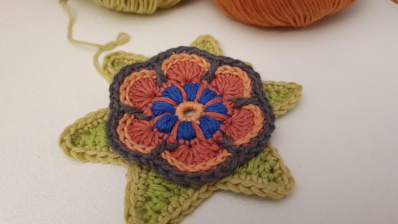 CROCHET Y CALMA. Reto Crochetil DIA 2. Tejemos en casa!