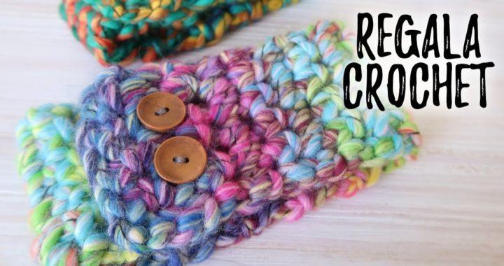CUELLO fácil a crochet | Un regalo ULTRA RAPIDO Y FÁCIL para toda la family! | Ahuyama Crochet