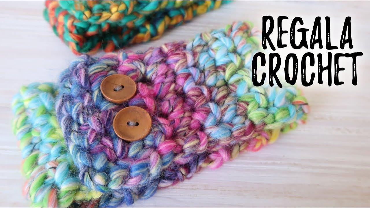 CUELLO fácil a crochet   Un regalo ULTRA RAPIDO Y FÁCIL para toda la family!   Ahuyama Crochet