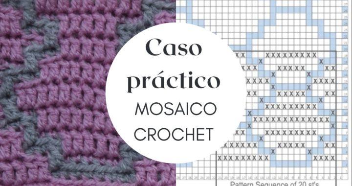 Caso PRÁCTICO Principiantes | MOSAICO CROCHET | CHIC DIY