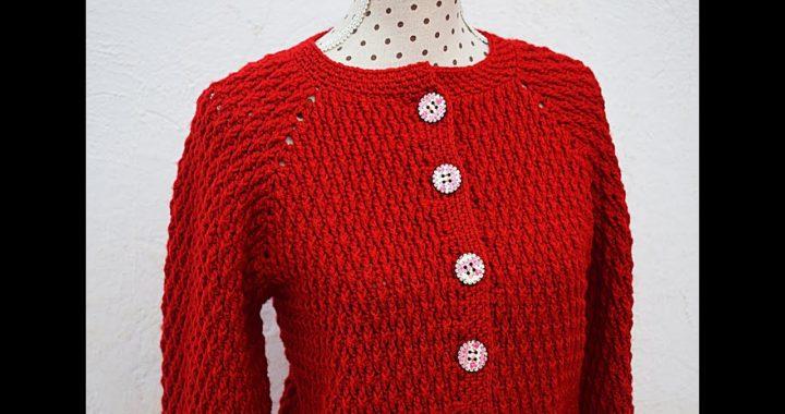 Chaqueta a crochet de adulto unisex Majovel #crochet #ganchillo