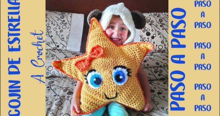 Cojín Estrella a Crochet - Paso a Paso