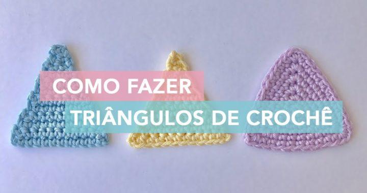 Como Fazer Triângulos de Crochê | Amigurumi Avançado #2