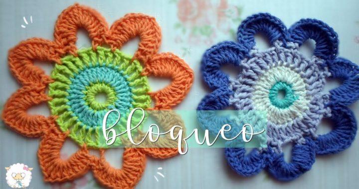 Como bloquear un trabajo tejido a crochet