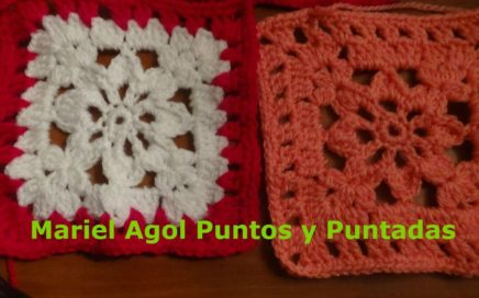 Como hacer un cuadrado (Granny square) a crochet