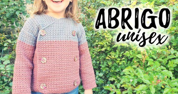 Cómo tejer ABRIGO para NIÑOS a crochet UNISEX | Tutorial paso a paso | Ahuyama Crochet