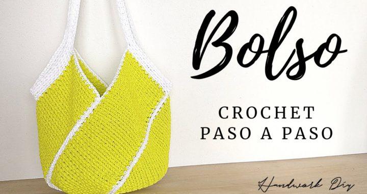 Cómo tejer bolso a crochet fácil paso a paso | Handwork Diy