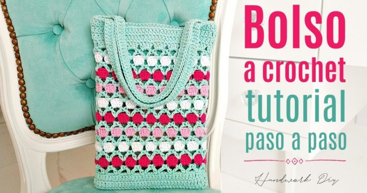 Cómo tejer bolso a crochet fácil y rápido | Handwork Diy