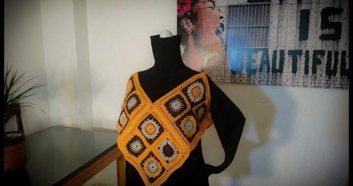 Como tejer  chaleco fácil a crochet