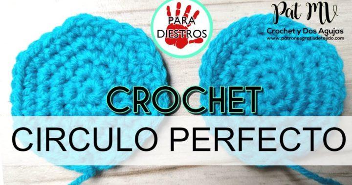 Cómo tejer círculos perfectos a Crochet ♥ / Clase # 9
