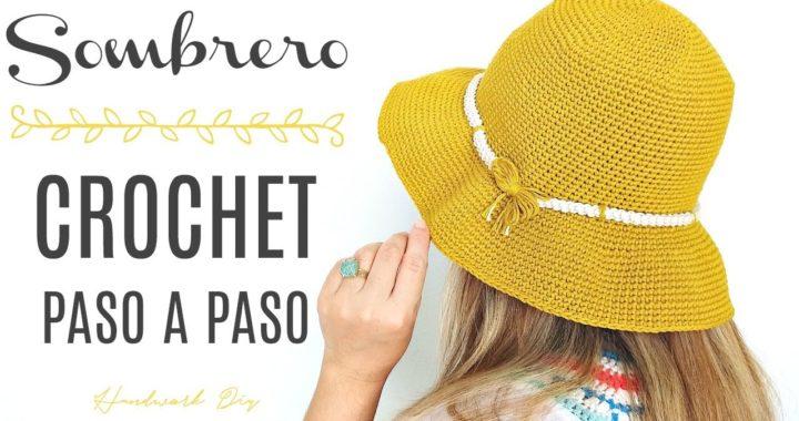 Cómo tejer sombrero a crochet paso a paso | Handwork Diy