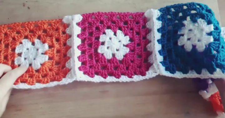 Como unir cuadraditos en crochet super facil!!!