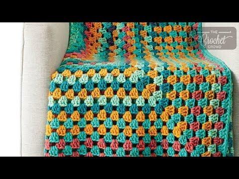 Crochet Granny Rectangle Afghan