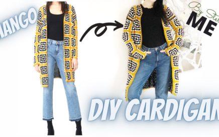 Crochet Granny Square Cardigan Tutorial.Crochet Granny Square Cardigan Free Pattern.By Stella