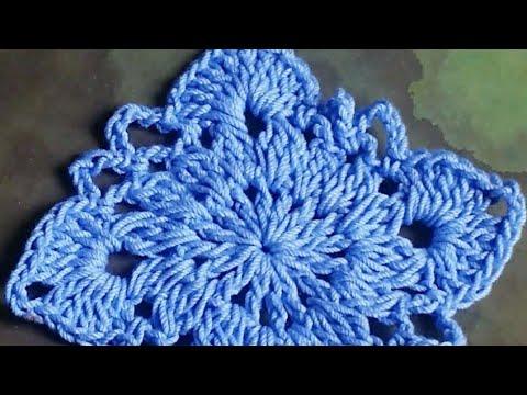 Crochet  Victorian Granny Square Tutorial