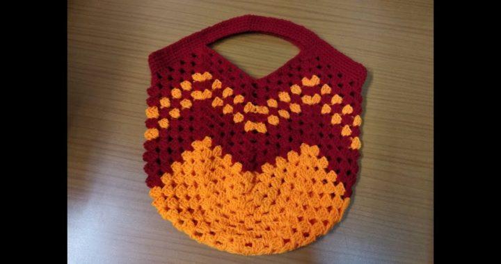 Crochet bag tutorial /diy granny square bag/क्रोशाची पिशवी /क्रोशिया/ woolen bag