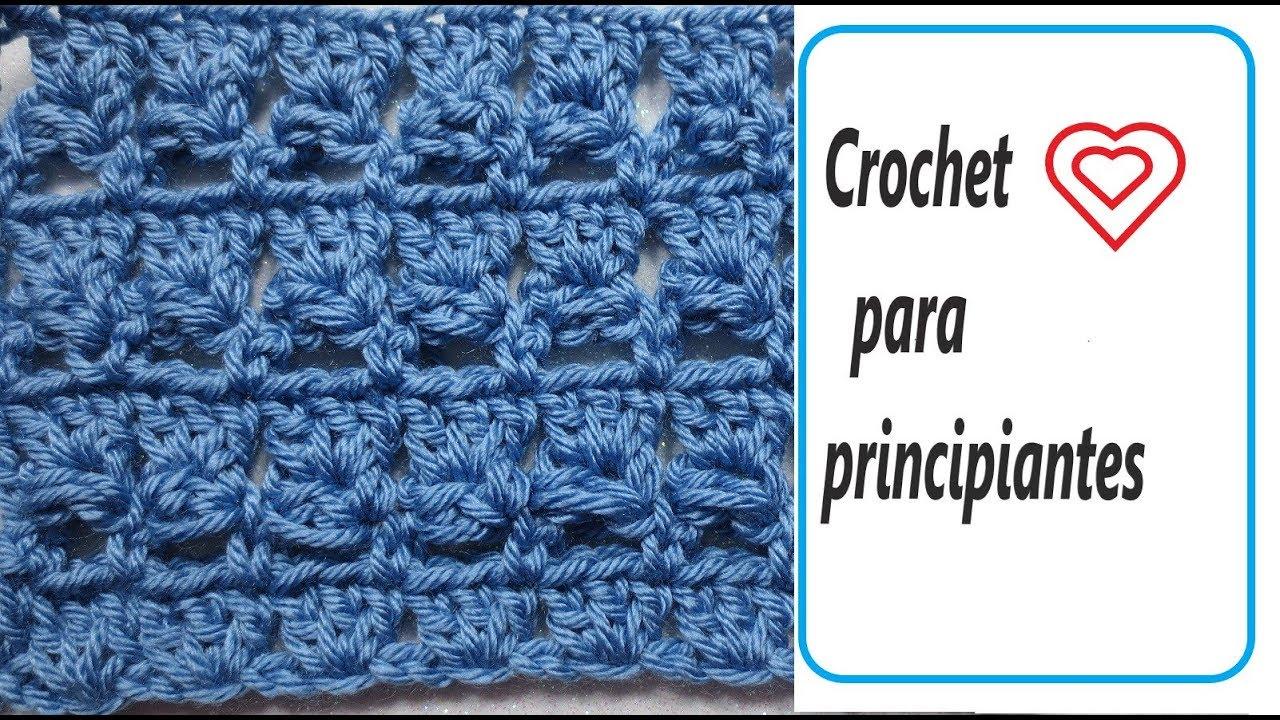 Crochet para principiantes tutorial