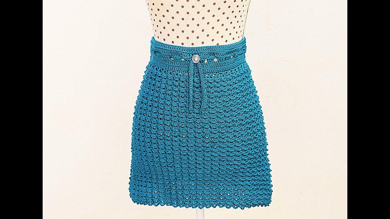 Crochet skirt very easy @Majovel crochet