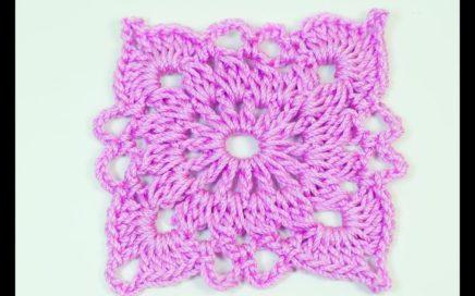 Cuadro para mantas y cobijas a crochet muy fácil y rápido