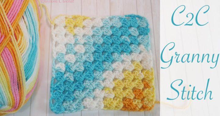 Easy Crochet: Corner to Corner Granny Square Blanket
