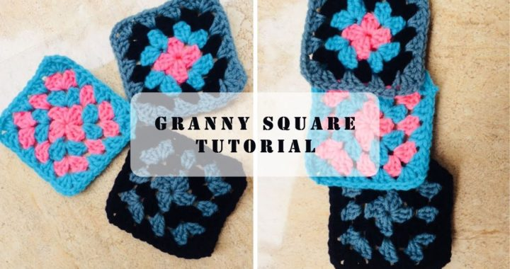Easy Granny Square Crochet Tutorial in Malayalam by Aparna