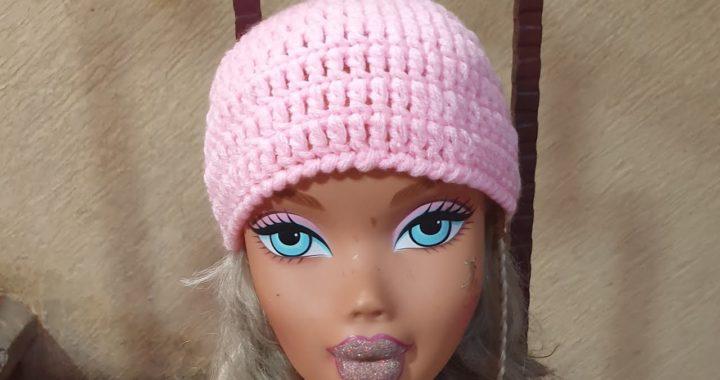 Gorro a crochet(ganchillo) básico para bebé de 7 a 12 meses  paso a paso principiantes Nancy Magno