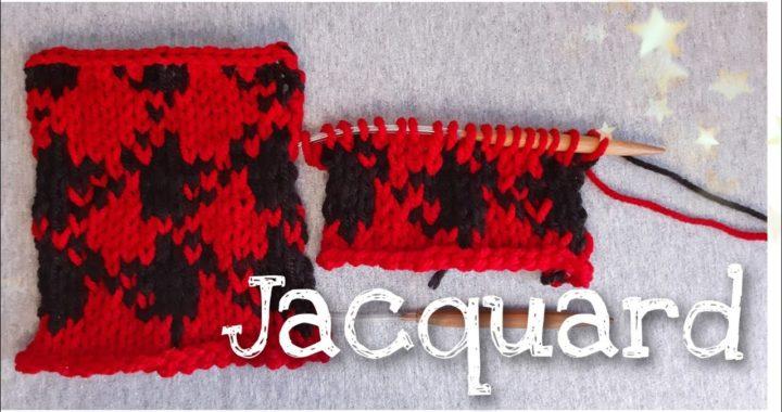 Jacquard // JW Anderson Pattern // cuadros Rojo y Negro