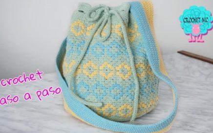 Mochila a crochet - paso a paso