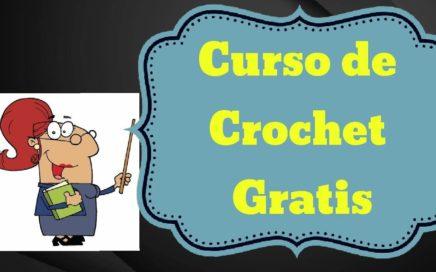 Parte Final del Curso Basico de Crochet