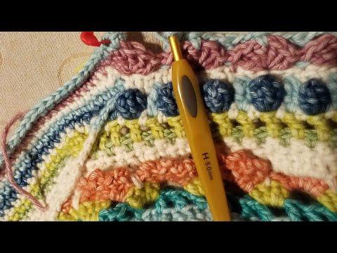 Patron Manta Crochet El Universo de Sofía etapa 8 2
