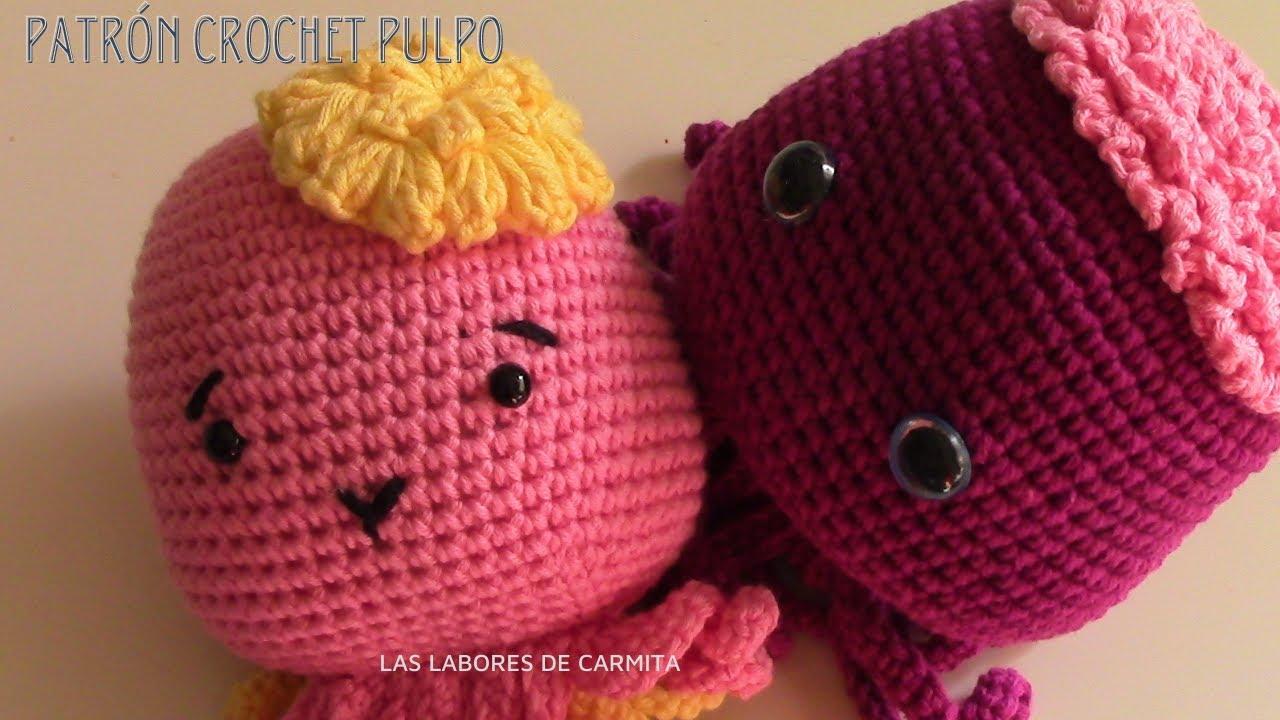 Patron pulpo crochet