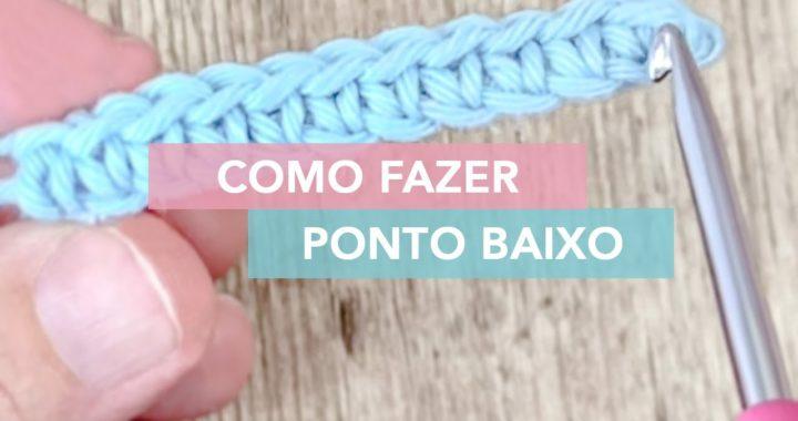 Ponto Baixo de Crochê | Curso Amigurumi Básico #4