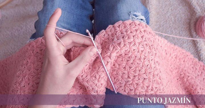 Punto Jazmín | para mantas | crochet
