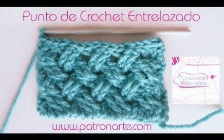 Punto de Crochet Entrelazado Celta