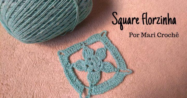 Square Florzinha de Crochê