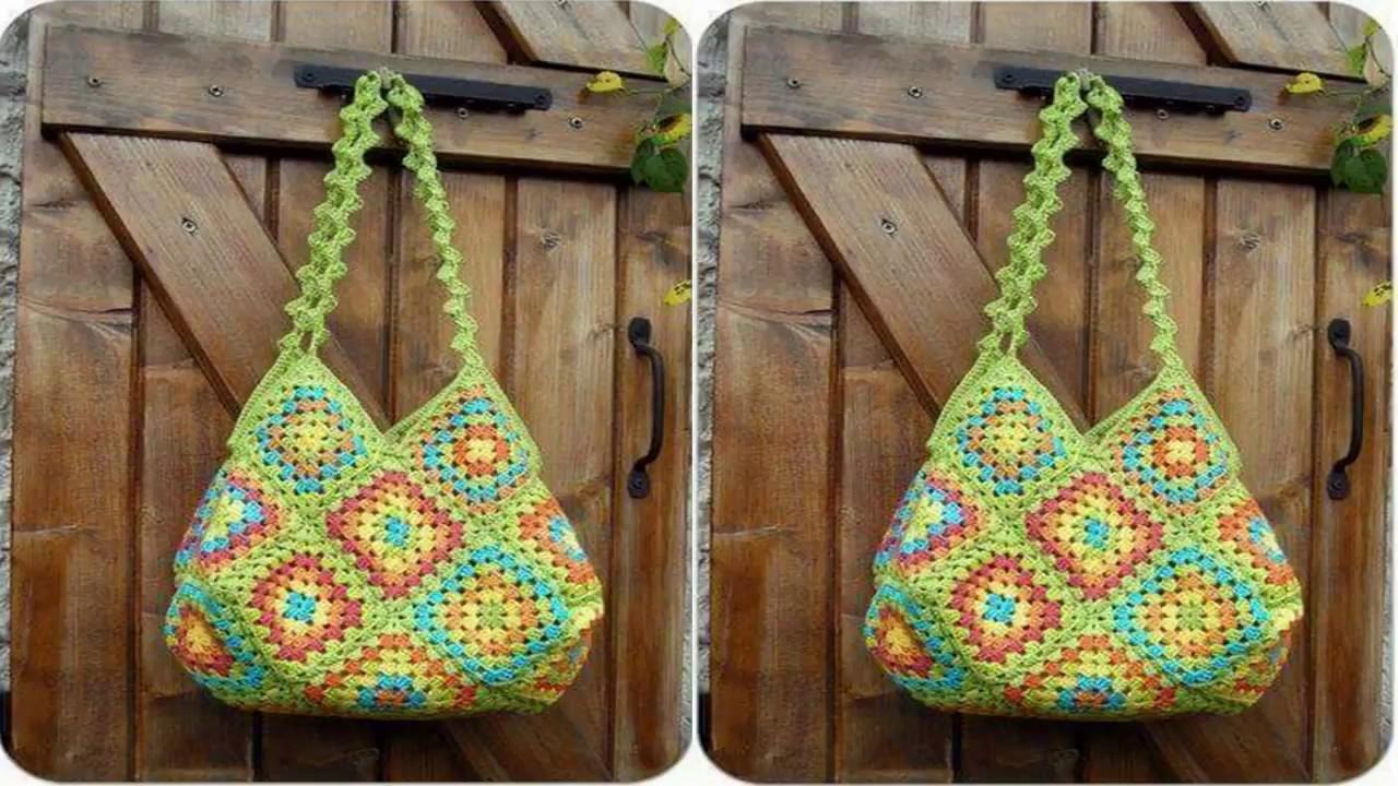 Teje Bolso a Crochet / Gráficos