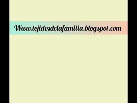 Tejidos de la Familia - Gráficos a crochet/ganchillo - Cuadrado simple - Granny