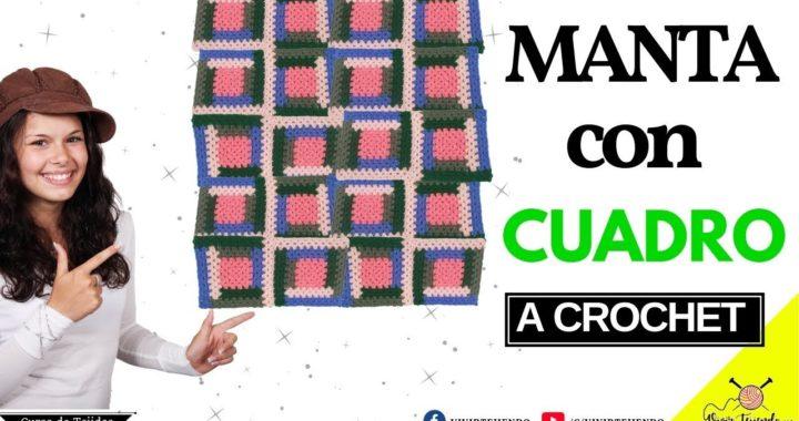 Tejiendo MANTA o CUBRECAMA con Granny a Crochet | Tejidos a Crochet