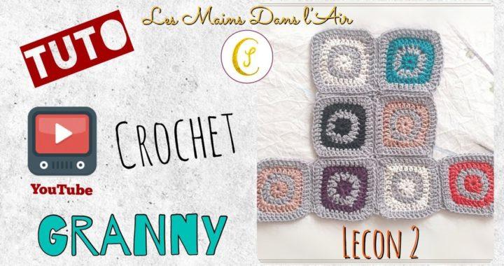 Tuto Crochet: GRANNY square - Part 2