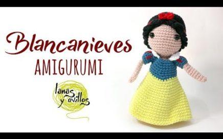 Tutorial Blancanieves Amigurumi   Serie Princesas y Súper Héroes   Lanas y Ovillos