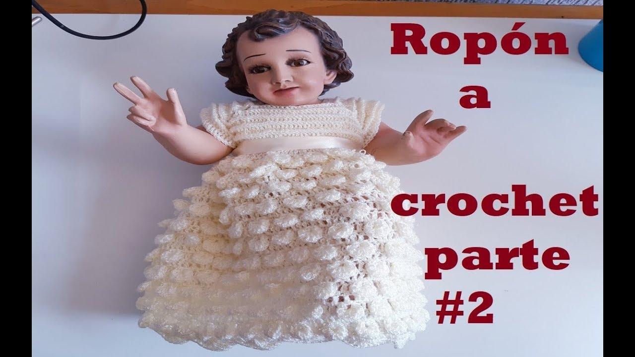 conjunto a crochet - para niño Dios - tutorial - tejido - ganchillo - parte #2