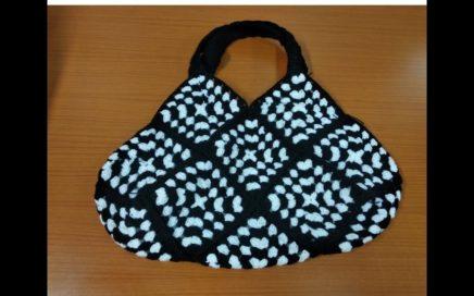 शिका ही सुंदर बॕग वीणायला/crochet Tutorial granny square bag / crochet marathi/क्रोशाची बॕग