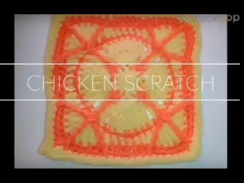 #126 - Chicken Scratch - 2018 Granny Square CAL