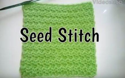 #149 - Seed Stitch - 2018 Granny Square CAL