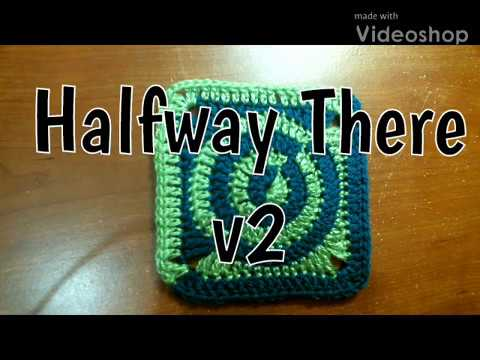 #183 - Halfway There v2 - 2018 Granny Square CAL
