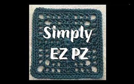 #212 - Simply EZ PZ Square - 2018 Granny Square CAL